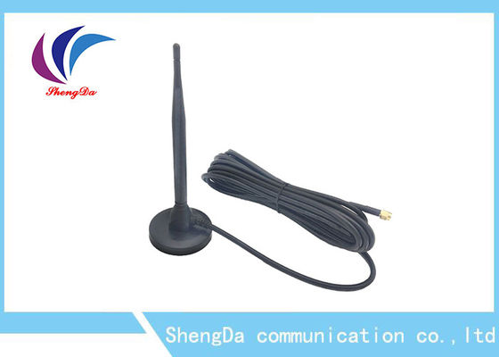 Chiny Omni Directional 433MHZ High Gain Antena / Sucker Antena z Magetic Base fabryka